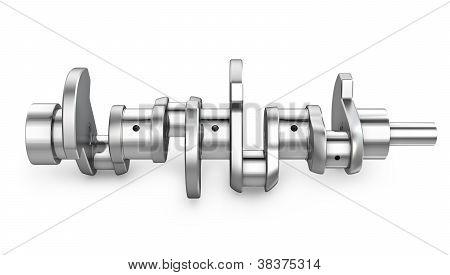 Shiny Metal Crankshaft