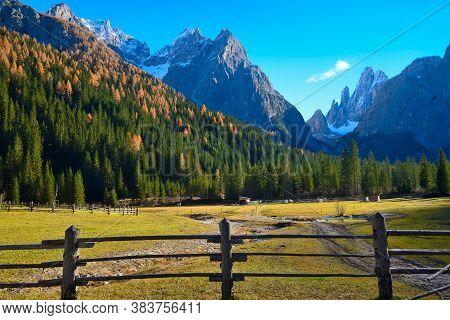 Val Fiscalina, Sesto Dolomites. South Tyrol. Bolzano. Italy