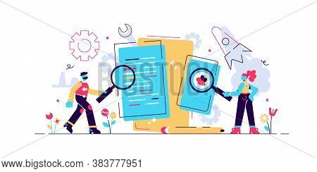App Testing, Mobile Application Development Process, Software Api Prototyping, Experienced Team-vect