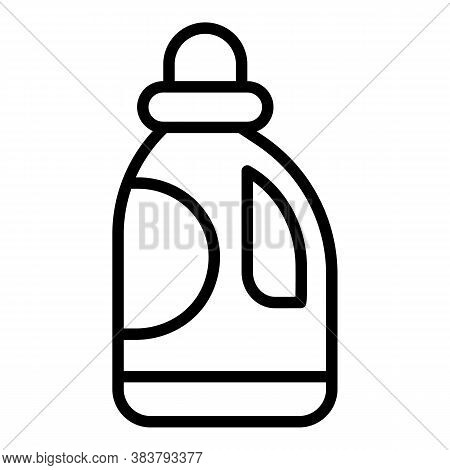 Disinfection Cleaner Icon. Outline Disinfection Cleaner Vector Icon For Web Design Isolated On White