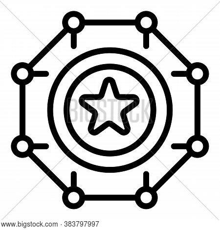 Jackpot Casino Bonus Icon. Outline Jackpot Casino Bonus Vector Icon For Web Design Isolated On White