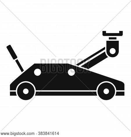 Wheels Jack-screw Icon. Simple Illustration Of Wheels Jack-screw Vector Icon For Web Design Isolated
