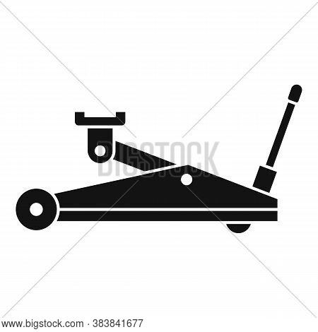Hydraulic Jack-screw Icon. Simple Illustration Of Hydraulic Jack-screw Vector Icon For Web Design Is