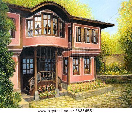 Old House in Koprivshtica