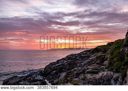 Sunset Above Aran Island - Arranmore - County Donegal, Ireland