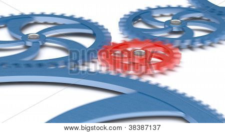Gears in movement