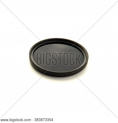 Neutral Density Filter Nd For Dslr And Mirrorless Cameras Isolated On White