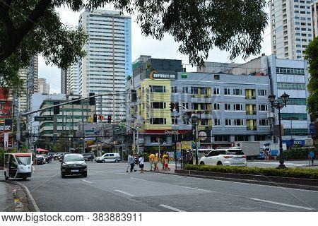 Manila, Ph - Oct 20 - Kalaw Avenue On October 20, 2018 In Manila, Philippines.