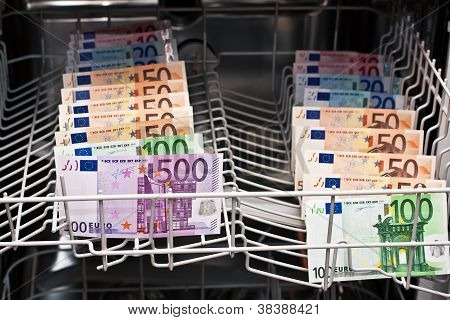 Money Laundering In The Dishwasher