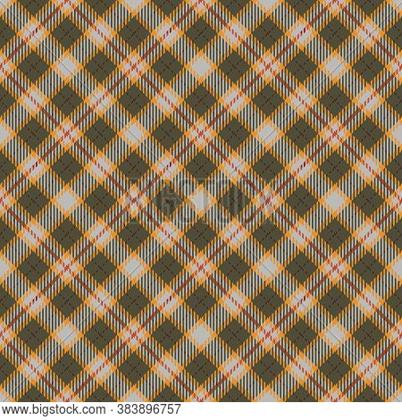 Autumn  Tartan Seamless Pattern Background. Fall Color Panel Plaid, Tartan Flannel Shirt Patterns. T