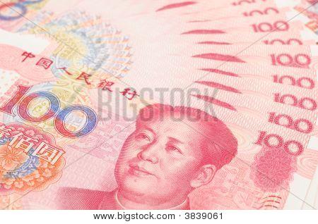 China Yuan Closeup