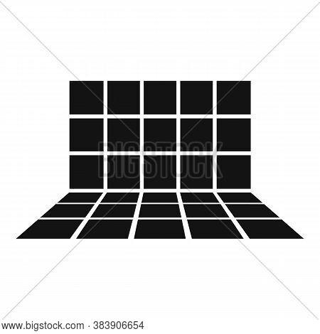 Tiler Bathroom Work Icon. Simple Illustration Of Tiler Bathroom Work Vector Icon For Web Design Isol
