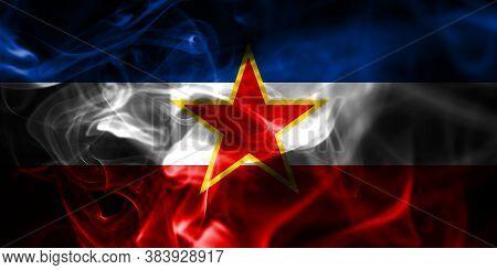 Yugoslavia Smoke Flag National Flag Of Smoke
