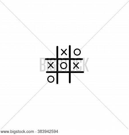 Tic Tac Toe Game Sign Icon. Vector Illustration Eps 10