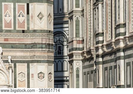 Giotto\'s Bell Tower Is The Bell Tower Of Santa Maria Del Fiore, The Cathedral Of Florence