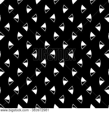 Triangular Figures Wallpaper. Repeated Geometrical Figures Background. Seamless Surface Pattern Desi