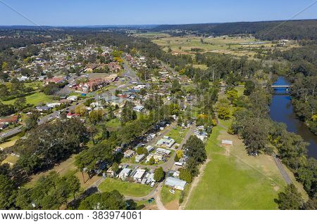 The Township Of Wallacia In Wollondilly Shire In Regional New South Wales In Australia