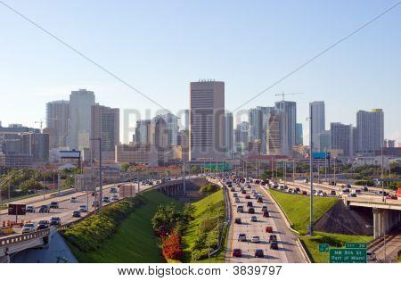 Miami Rush Hour Traffic