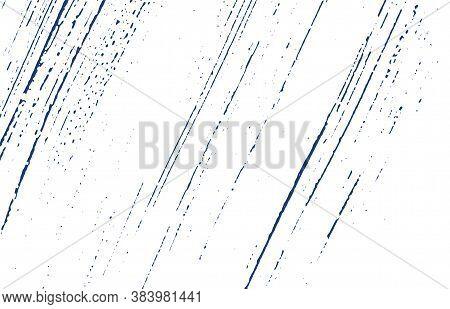 Grunge Texture. Distress Indigo Rough Trace. Dramatic Background. Noise Dirty Grunge Texture. Worthy