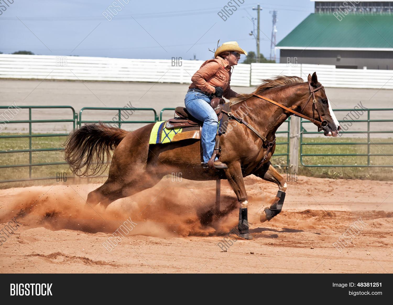 Western Horse Rider Image Photo Free Trial Bigstock
