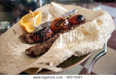 Tradtional food in Iran