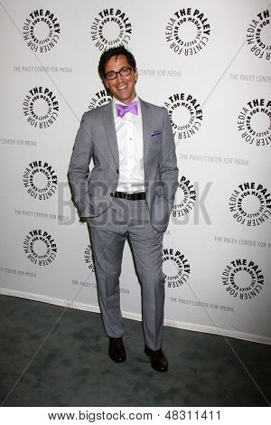 """LOS ANGELES - JUL 16:  Dan Bucatinsky arrives at  """"An Evening With Web Therapy: The Craze Continues..."""" at the Paley Center for Media on July 16, 2013 in Beverly Hills, CA"""
