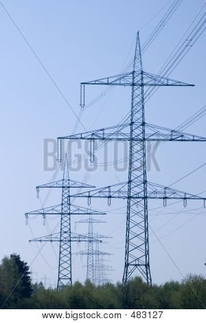 Electric Overland Power Lines