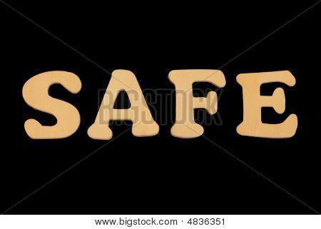 Wooden Word Safe