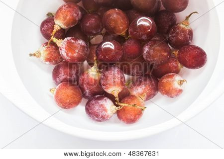 Fresh Grape Sank Water For Cleaning