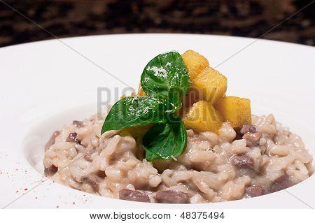 Rice pap