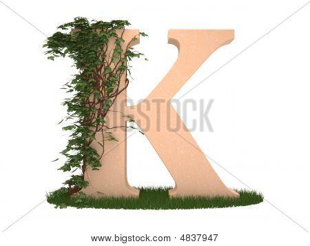 Letter K