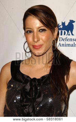 Princess Tamara Czartoryski-Borbon at the In Defense of Animals Benefit Concert. Paramount Theater, Hollywood, CA. 02-17-07