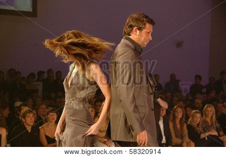 Haley Bennett and Jeremy Sisto inside at the 2006 GM TEN Fashion Show. Paramount Studios, Hollywood, CA. 02-20-07