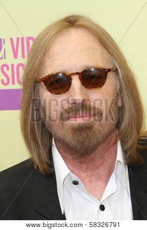 Tom Petty at the 2012 Video Music Awards Arrivals, Staples Center, Los Angeles, CA 09-06-12