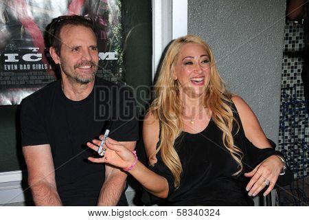 Michael Biehn, Jennifer Blanc at