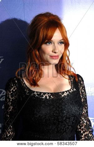Christina Hendricks at the Variety and Women In Film Pre-Emmy Event, Scarpetta, Beverly Hills, CA 09-21-12