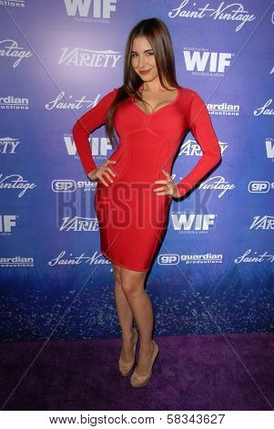 Mayra Veronica at the Variety and Women In Film Pre-Emmy Event, Scarpetta, Beverly Hills, CA 09-21-12