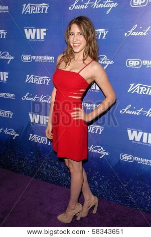 Eden Sher at the Variety and Women In Film Pre-Emmy Event, Scarpetta, Beverly Hills, CA 09-21-12