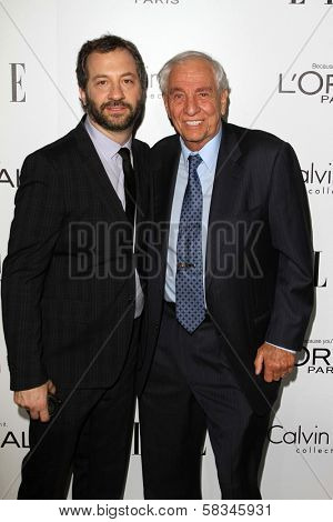 Judd Apatow, Garry Marshall at the Elle Magazine 17th Annual Women in Hollywood, Four Seasons, Los Angeles, CA 10-15-12