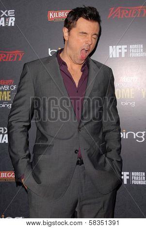 Seth MacFarlane at Variety's 3rd Annual Power of Comedy, Avalon, Hollywood, CA 11-17-12