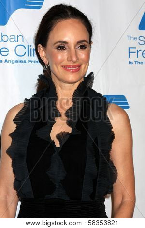 Madeleine Stowe at the Saban Free Clinic Gala, Beverly Hilton, Beverly Hills, CA 11-19-12