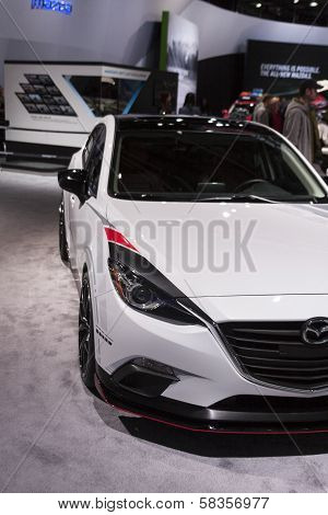 Detroit - January 26 :the New 2014 Mazda Club Sport 3 Concept At The North American International Au