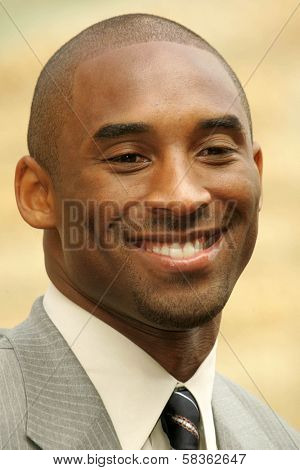 Kobe Bryant at the Ceremony Honoring Los Angeles Lakers Owner Jerry Buss with the 2,323rd star on the Hollywood Walk of Fame. Hollywood Boulevard, Hollywood, CA. 10-30-06