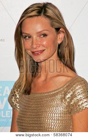 Calista Flockhart at the Peace Over Violence 35th Annual Humanitarian Awards. Beverly Hills Hotel, Beverly Hills, CA. 10-27-06