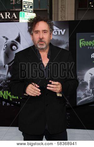 Tim Burton at the