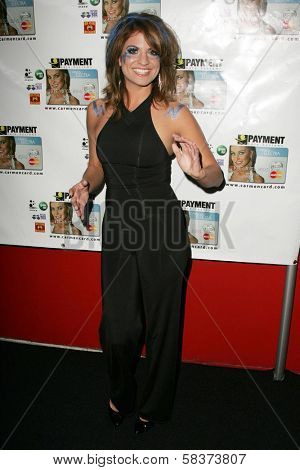 Bridgetta Tomarchio at the launch party for the Carmen Electra PrePaid MasterCard and the Carmen Electra Gift MasterCard. The Red Pearl Kitchen, Los Angeles, CA. 10-25-06