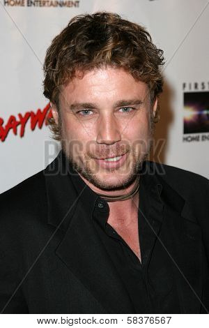 Jaason Simmons at the DVD Release of