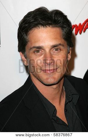 Billy Warlock at the DVD Release of