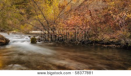 Smooth Flow Of A River