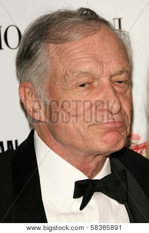 Hugh M. Hefner at the 21st Annual American Cinematheque Award Honoring George Clooney. Beverly Hilton Hotel, Beverly Hills, CA. 10-13-06